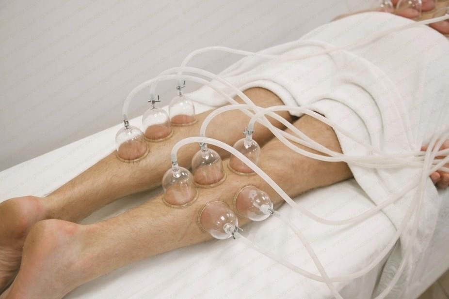 вакуумный баночный массаж в салоне